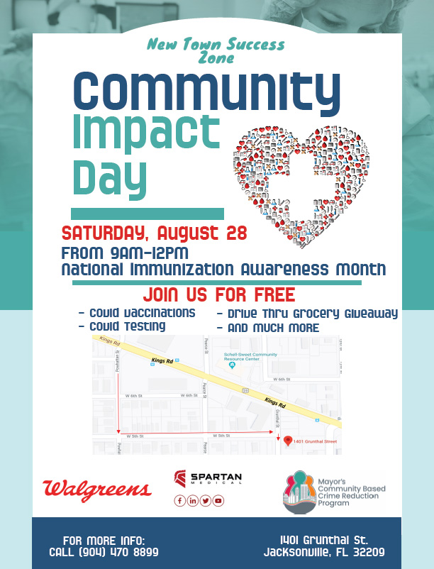 Community Impact Day - COVID Vaccinations